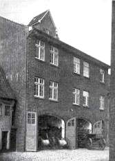 """Gerätehaus """"Bei der Kirche"""" aus dem Jahre 1927"""